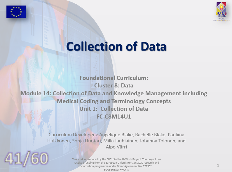 Lession 41: Collection of Data